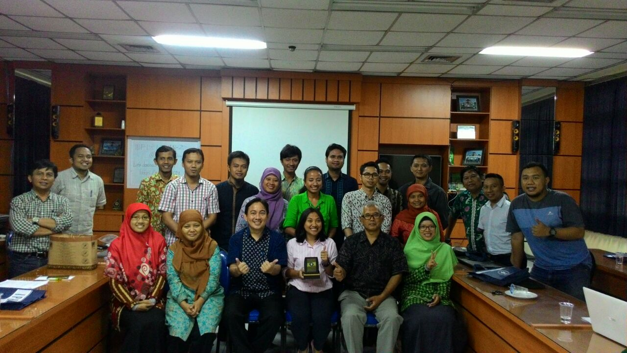 Participants of ArcGIS Platform Technical Workshop, IPB, 15 December 2016