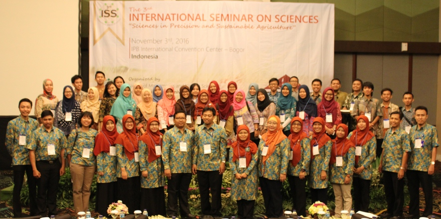 Organizing committee of International Seminar on Sciences 2016, 3 November 2016