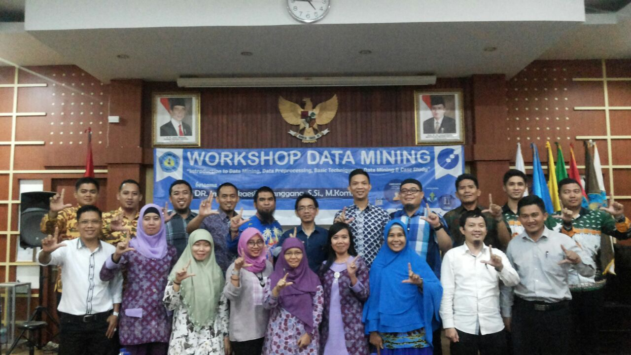 DM workshop Poltek Lampung