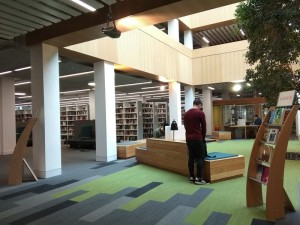 Library at Lancaster University